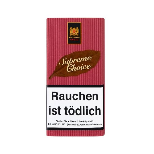 Mac Baren Pfeifentabak Supreame Choice (Cherry) 40g Päckchen