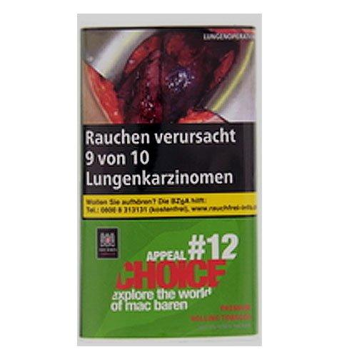 Mac Baren Tabak Choice Appeal No.12 - 30g Päckchen Feinschnitt
