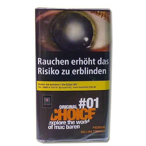 Mac Baren Tabak Choice Original No.01 - 30g Päckchen Feinschnitt
