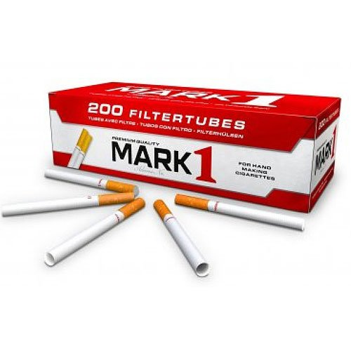 Mark 1 Zigarettenhülsen 200 Stück