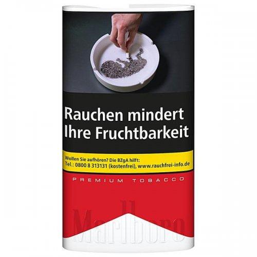 Marlboro Tabak Premium Red 30g Päckchen Zigarettentabak