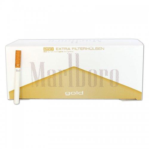 Marlboro Zigarettenhülsen Gold Extra 250 Stück