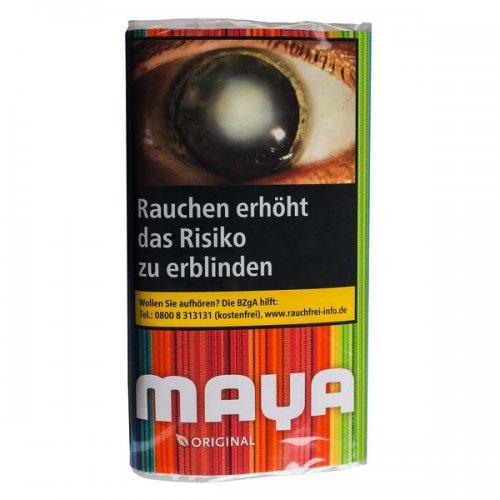 Maya Tabak Red ohne Zusatzstoffe 30g Päckchen Zigarettentabak