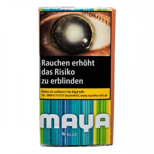 Maya Tabak ohne Zusatzstoffe Blue 30g Päckchen Feinschnitt
