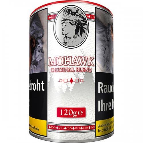 Mohawk Tabak Original Weiß Virginia Blend 120g Dose Feinschnitt