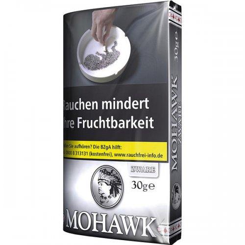 Mohawk Tabak Zware Shag 30g Päckchen Feinschnitt