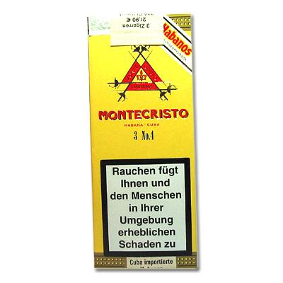 Montecristo No. 4 Zigarren 3er