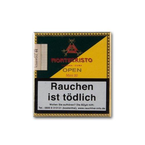 Montecristo Open Mini Cigarillos 20 Stück