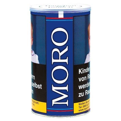 Moro Tabak Halfzware Shag Blau 180g Dose Zigarettentabak