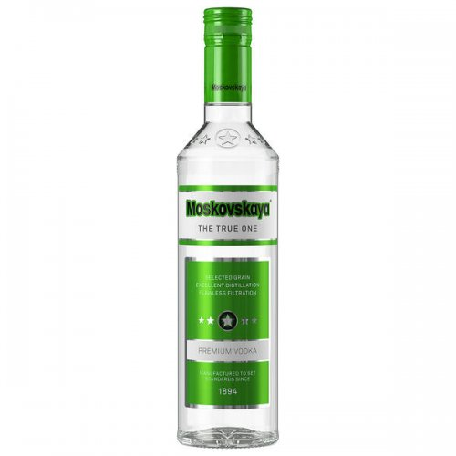 Moskovskaya Premium Wodka 38 % Vol. Alkohol 0,5 L