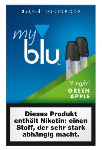 myblu Pods Green Apple 9 mg 2er Pack