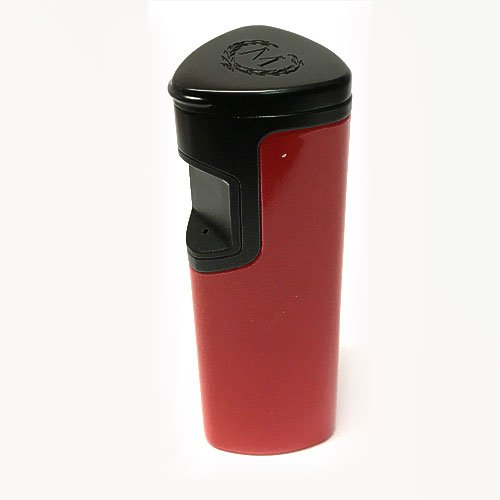 Myon Zigarrenfeuerzeug 3 Jet IC Touch Rot