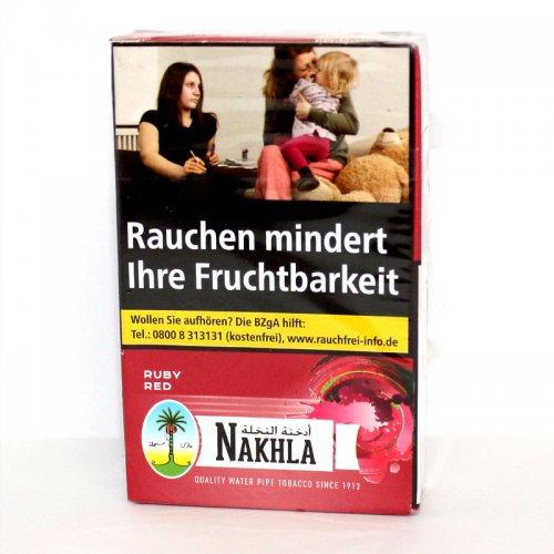 Nakhla Ruby Red (Cherry) 50g Päckchen Shisha Tabak