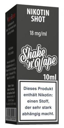 Nikoliquids Nikotin Shot Shake n Vape 18mg