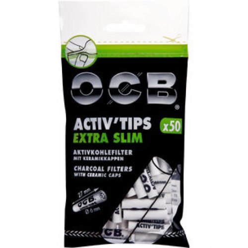 OCB Activ Tips Extra Slim 6 mm