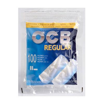 OCB Drehfilter Regular Zigarettenfilter 7,5 mm 100 Stück
