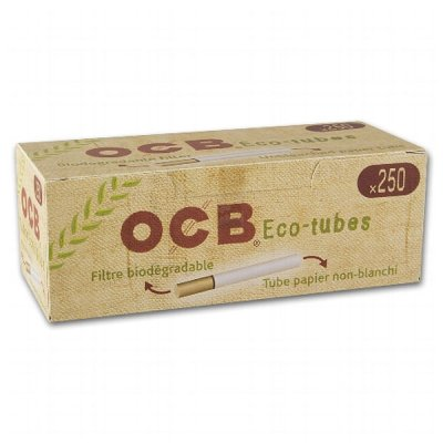 OCB Zigarettenhülsen Organic 250 Stück