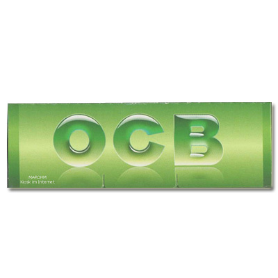 OCB Zigarettenpapier Grün 1x50 Blatt Einzelpackung