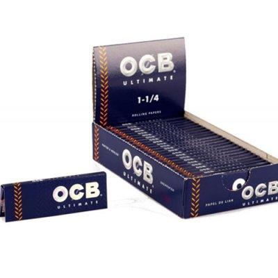 OCB Zigarettenpapier Ultimate 1 1/4 1x50 Blättchen