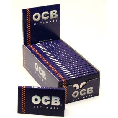 OCB Zigarettenpapier Ultimate kurz 1x100 Blättchen