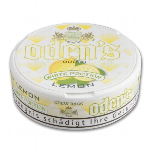 Odens Snus White Portion Lemon Chewing Bags 15g