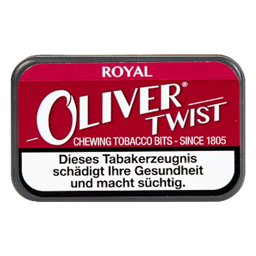 Oliver Twist Royal 7g Kautabak