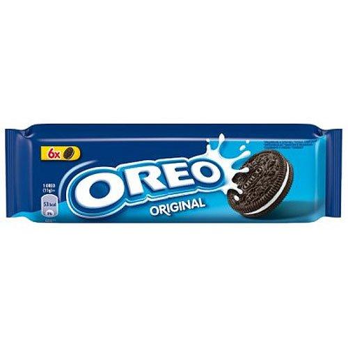 Oreo Keks aus zwei Kakaohälften 66g Pack