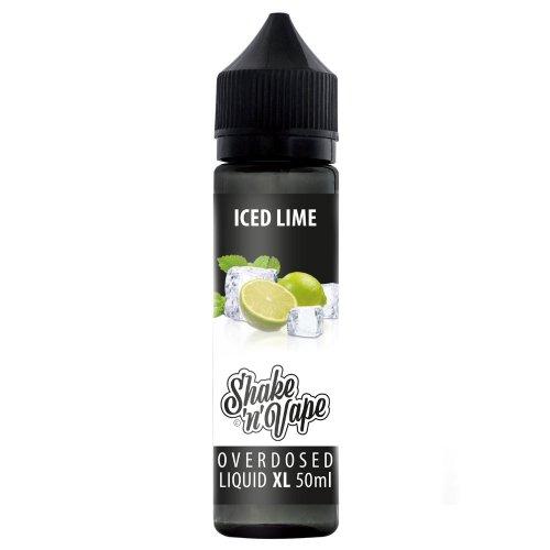 Overdosed e-Liquid 50 / 50 Iced Lime 50ml