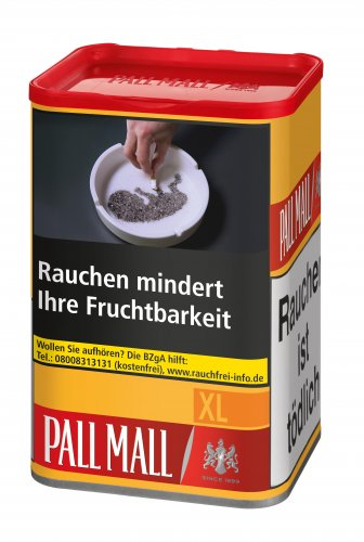 Pall Mall Allround Rot 60g Dose Volumentabak