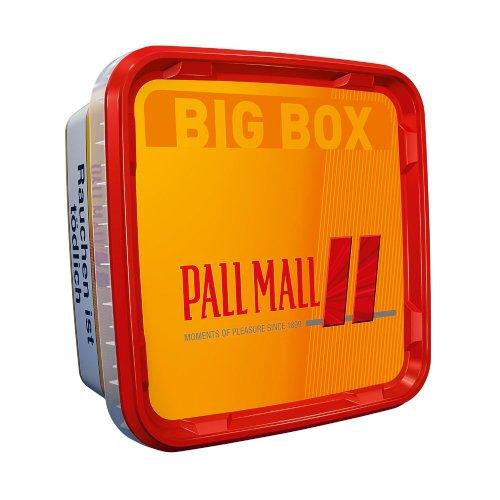 Pall Mall Allround Rot Big Box Volumentabak 120g Dose