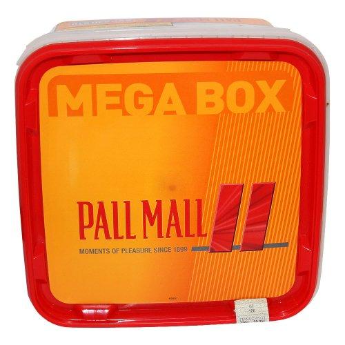 Pall Mall Allround Rot Mega Box 170g Dose Volumentabak
