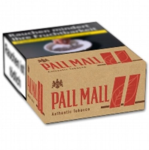 Pall Mall Authentic Red GIGA ohne Zusätze (8x34)