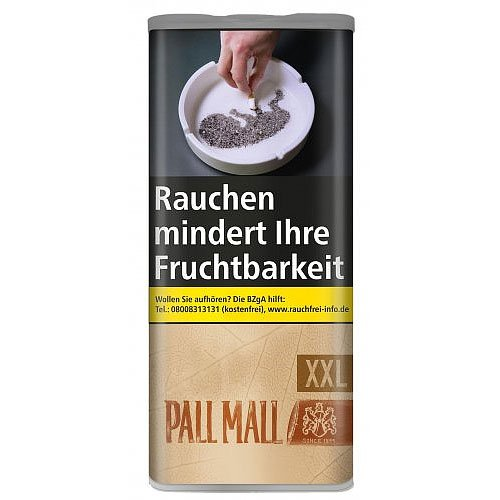 Pall Mall Authentic Red XXL 95g Dose Volumentabak