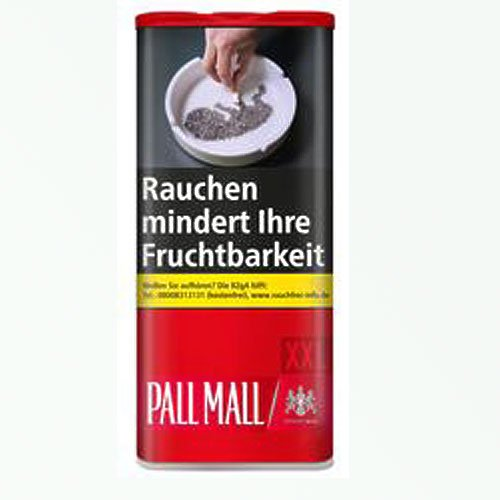 Pall Mall Red XXL 105g Dose Volumentabak