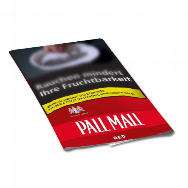 Pall Mall Roll American Blend Red 30g Feinschnitt