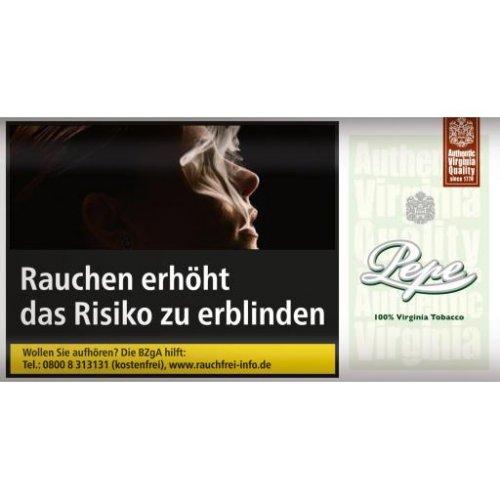 Pepe Fine Green Tabak ohne Zusatzstoffe 30g Päckchen Feinschnitt