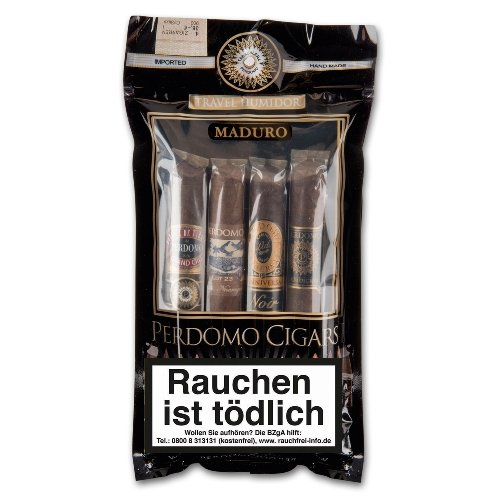 Perdomo Zigarren Sun Grown Toro Humibag 4er