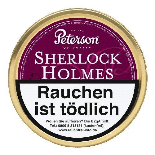 Peterson Sherlock Holmes Pfeifentabak 50g Dose
