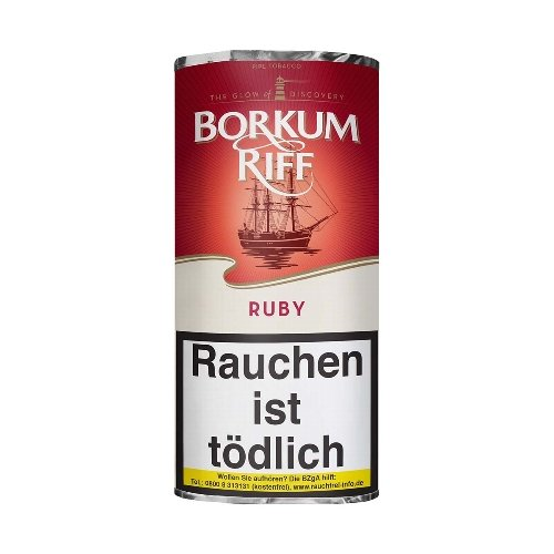 Pfeifentabak Borkum Riff Ruby (ehem. Cherry Cavendish) 50g