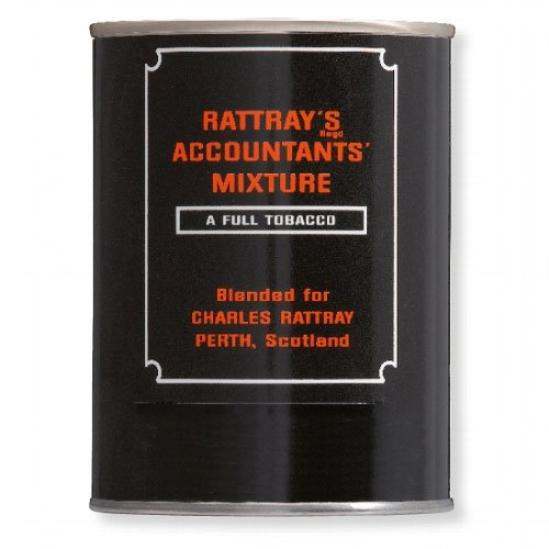 Rattrays Pfeifentabak Accountants Mixture 100g Dose