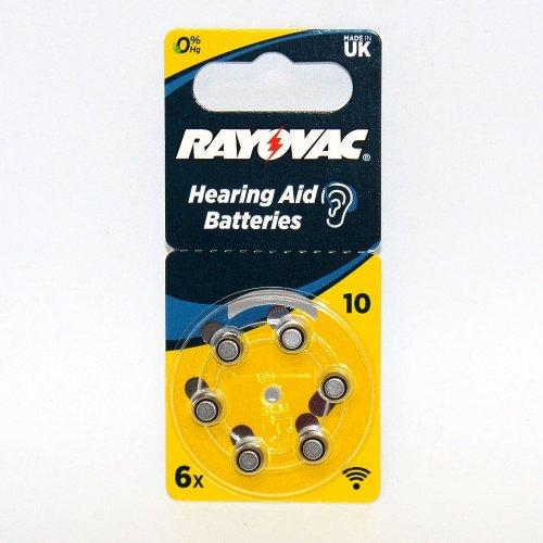 Rayovac Hörgerätebatterie R10AE