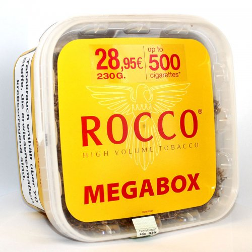 Rocco Tabak Gelb High Volumentabak Megabox 220g Eimer