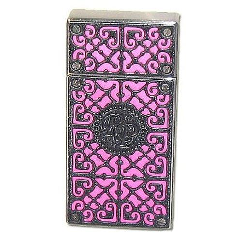 Rocky Patel RP Burn Feuerzeug Pink-Black