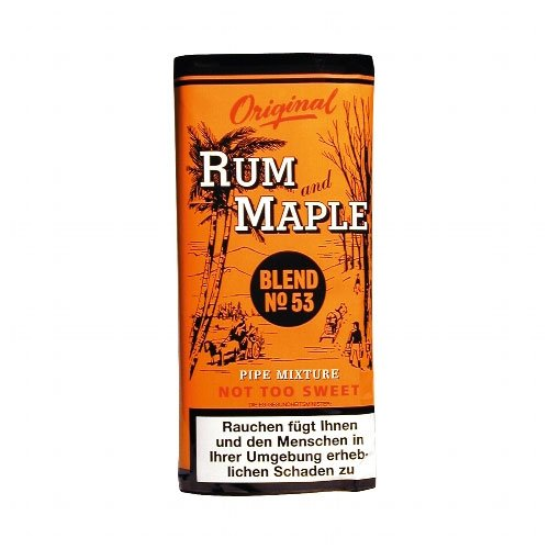 Rum and Maple Pfeifentabak R and M - 50g Päckchen