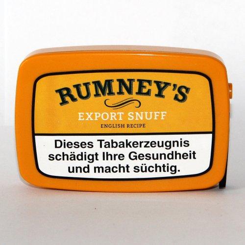 Rumneys Export Snuff 10g Dose Schnupftabak