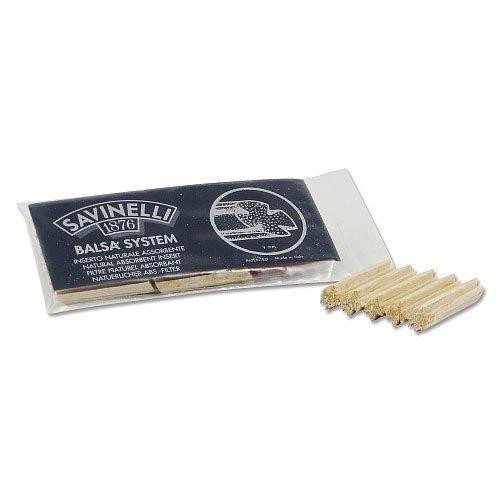 Savinelli Balsaholzfilter für Pfeife 9mm 15Stk.