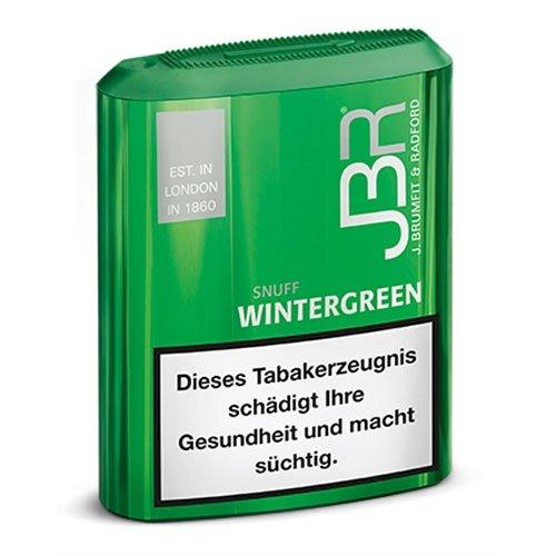 JBR Wintergreen Schnupftabak 10g Dose Snuff