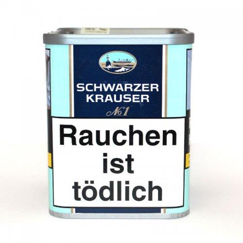 Schwarzer Krauser Tabak No 1 90g Dose Feinschnitt