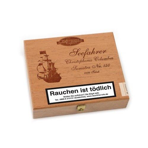 Seefahrer Zigarren Christopherus Columbus Sumatra No. 150