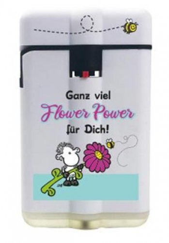 Sheepworld Easy Torch 8 Jet Feuerzeug Flower Power